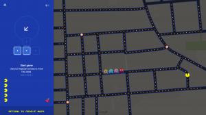 Google Pacman Maps